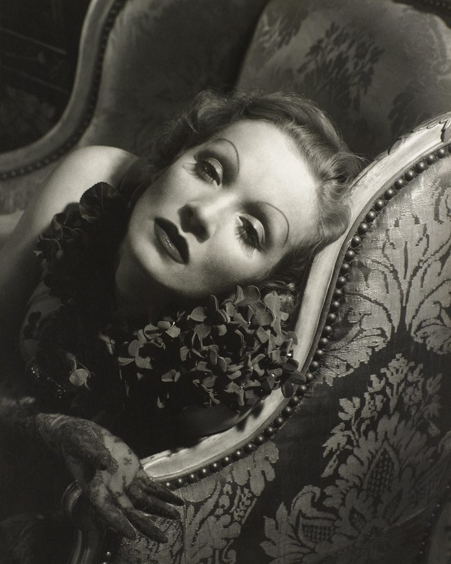 Edward Steichen American 1879-1973, emigrated to United States 1881, worked in France 1906-23 'Marlene Dietrich' 1934