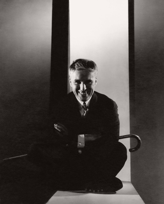Edward Steichen (American 1879-1973, emigrated to United States 1881, worked in France 1906-23) 'Charlie Chaplin' 1934