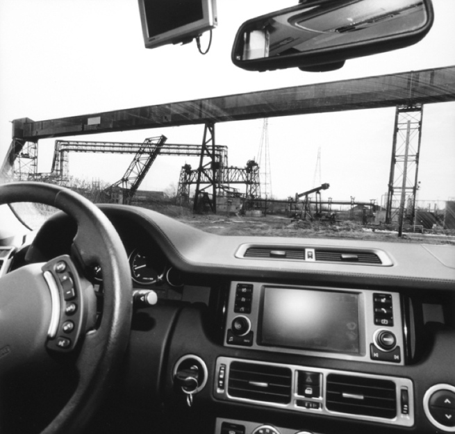 Lee Friedlander. 'Cleveland, Ohio' 2009