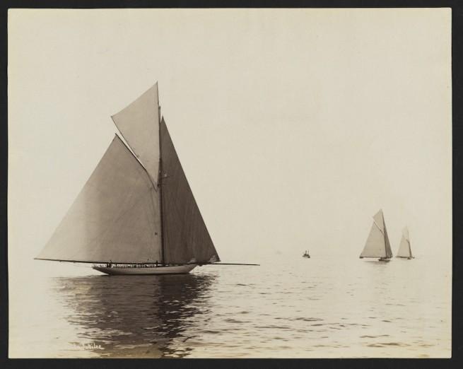 Nathaniel Livermore Stebbins 1847-1922 (Photographer) 'Colonia, Vigilant & Jubilee' 1893-08-11