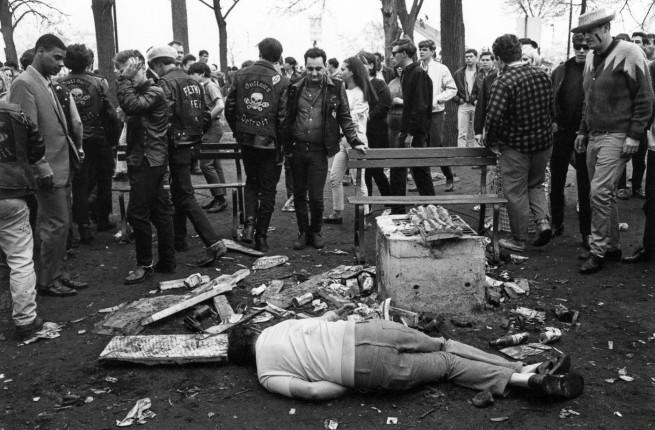 Enrico Natali. 'Incident at Bell Isle Park, Detroit, 1968' 1968