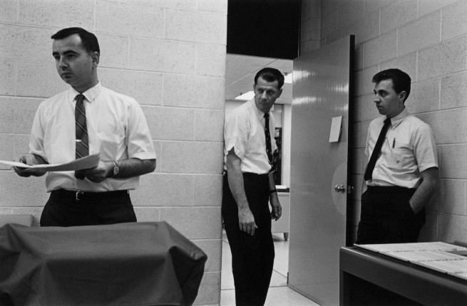 Enrico Natali. 'Office workers, Detroit, 1968' 1968