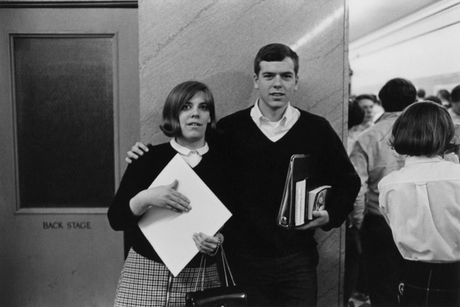 Enrico Natali. 'Students at school, Detroit, 1968' 1968