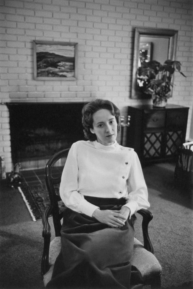 Enrico Natali. 'Margaret Carpenter at home, Detroit, 1968' 1968