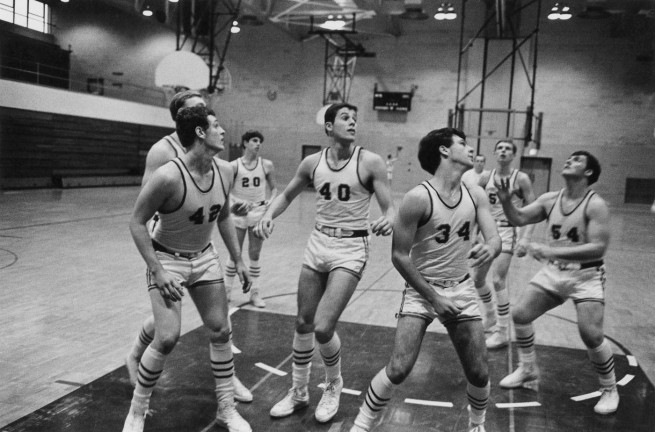 Enrico Natali. 'High school basketball, Detroit, 1968' 1968