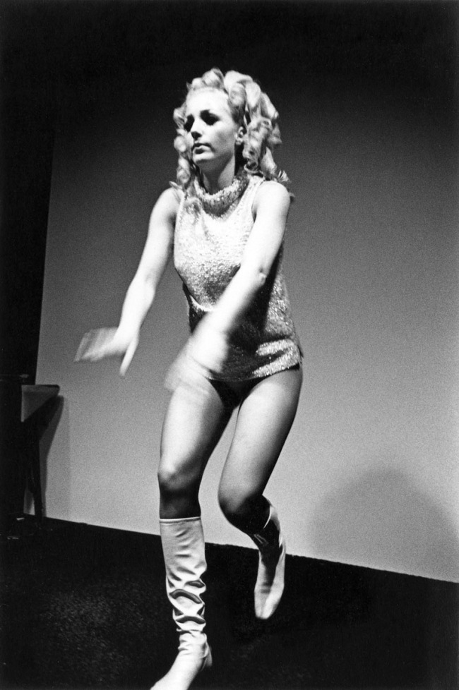 Enrico Natali. 'Go-Go dancer, Detroit, 1968' 1968