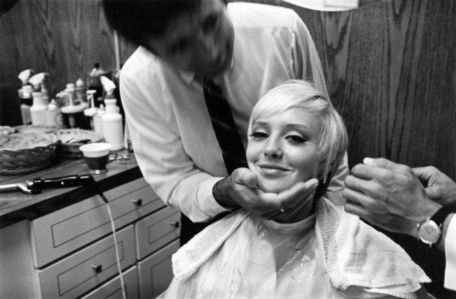 Enrico Natali. 'Beauty salon client with a new haircut, Detroit, 1968' 1968