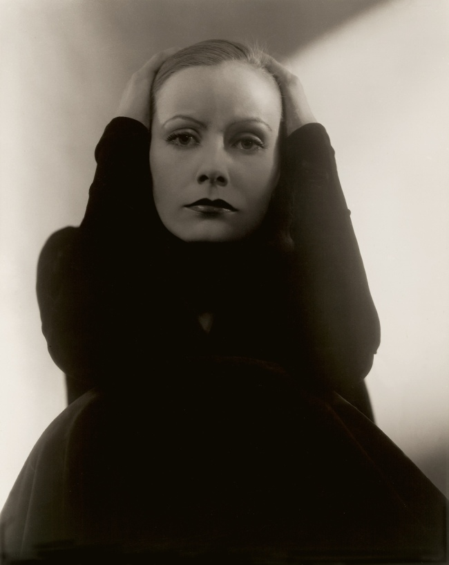 Edward Steichen (American 1879-1973, emigrated to United States 1881, worked in France 1906-23) 'Greta Garbo' 1929
