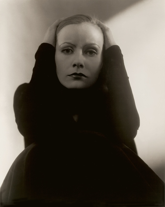 Edward Steichen American 1879-1973, emigrated to United States 1881, worked in France 1906-23 'Greta Garbo' 1929