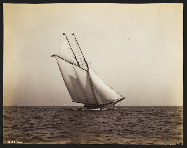 Nathaniel Livermore Stebbins 1847-1922 (Photographer) 'Gitana' 1888-06-10