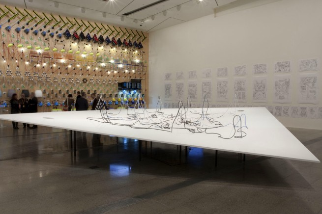 Daniel von Sturmer 'Paradise park' 2013 (installation view)