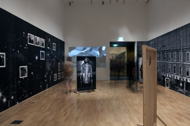 Destiny Deacon and Virginia Fraser 'Melbourne Noir' 2013 (installation view)