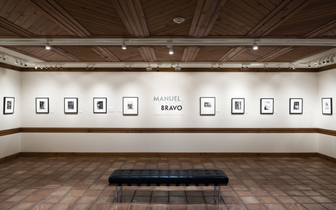 Installation view of the exhibition 'Manuel Álvarez Bravo' at The Wittliff Collections, Texas State University