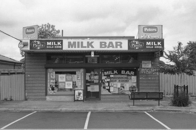 David Wadelton. 'Milk Bar, Jenkens Avenue Frankston North' 2012