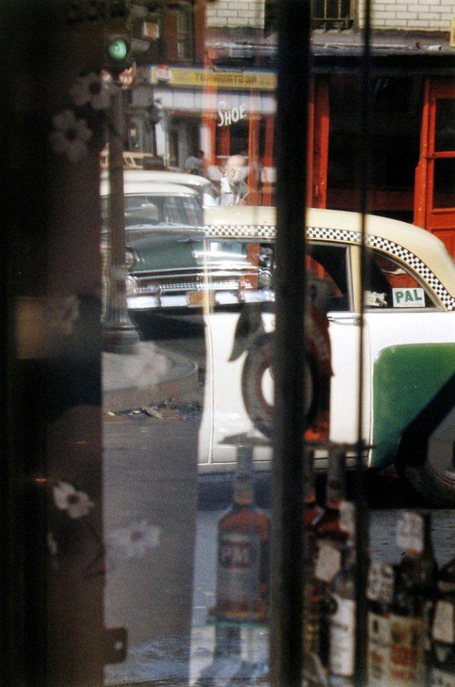 Saul Leiter. 'Taxi' 1956