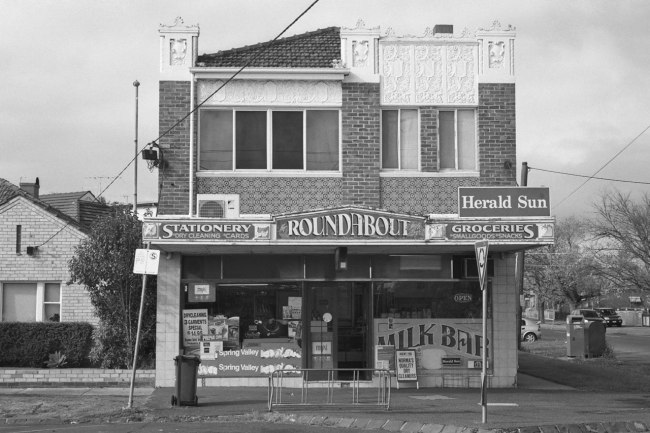 David Wadelton. 'Milk Bar, Napier Street, Essendon' 2012