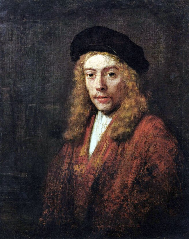 Rembrandt van Rijn (Dutch, 1641-1668) 'Portrait of Titus' 1663