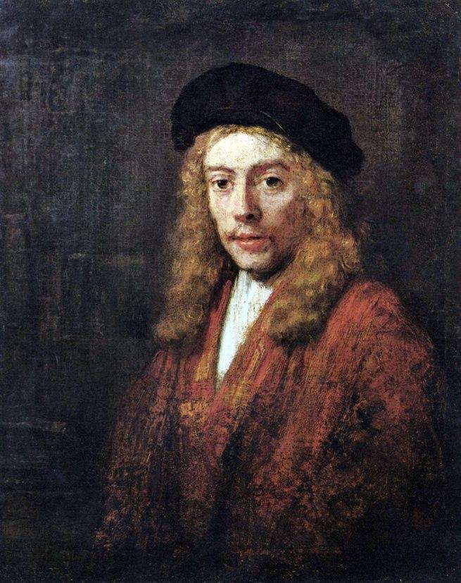 Rembrandt van Rijn (1641-1668) 'Portrait of Titus' 1663