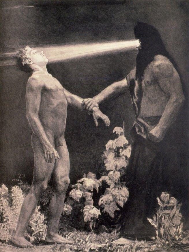 Sascha Schneider. 'Hypnotism' 1904