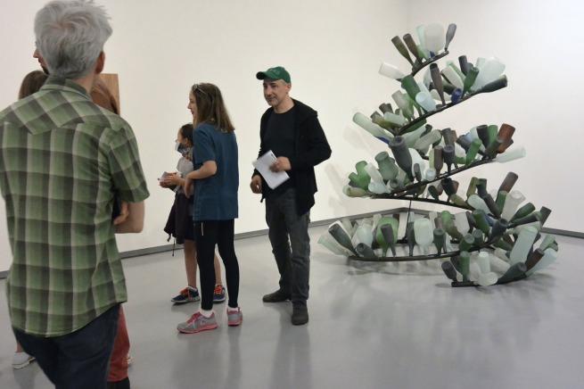 Tony Cragg. 'Spyrogyra' 1992 (installation view)