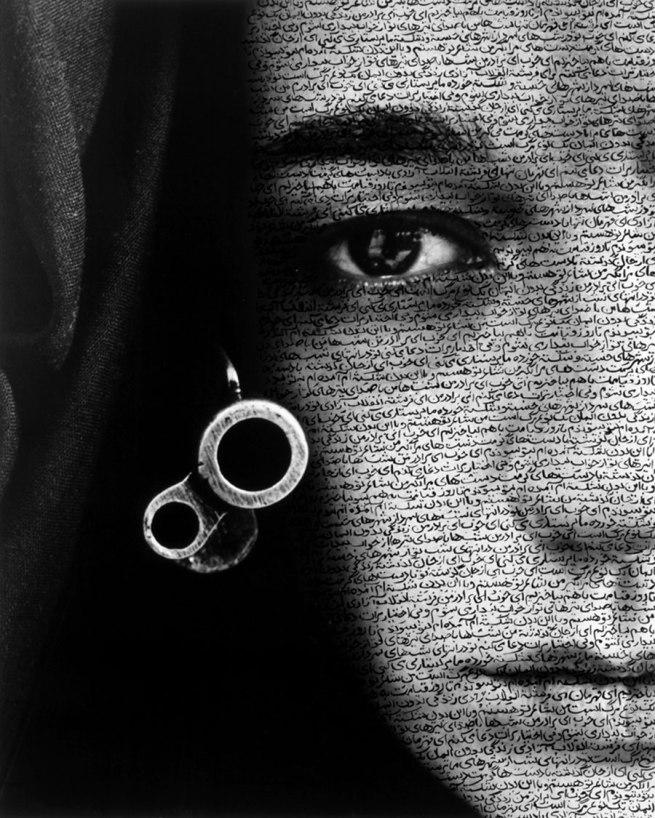 Shirin Neshat. 'Speechless' 1996