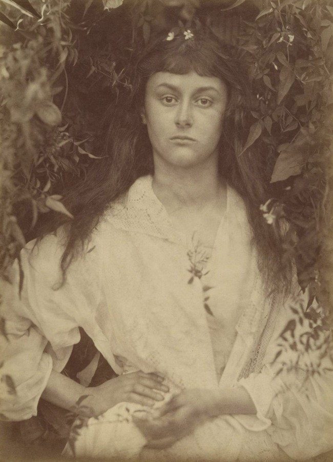 Julia Margaret Cameron (English, 1815-1879) 'Alice Liddell / Pomona' 1872