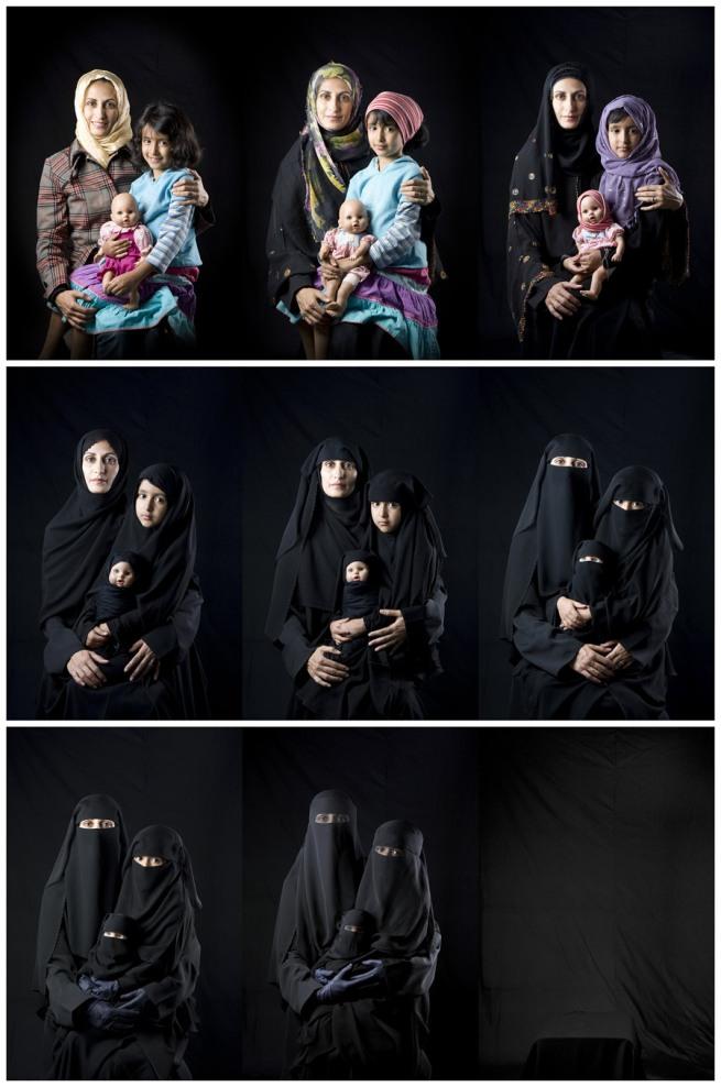 Boushra Almutawakel. 'Mother, Daughter, Doll series' 2010