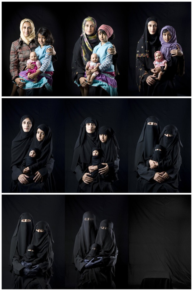 Boushra Almutawakel. 'Mother, Daughter, Doll series' 2010