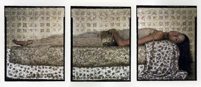 Lalla Essaydi. 'Bullets Revisited #3' 2012