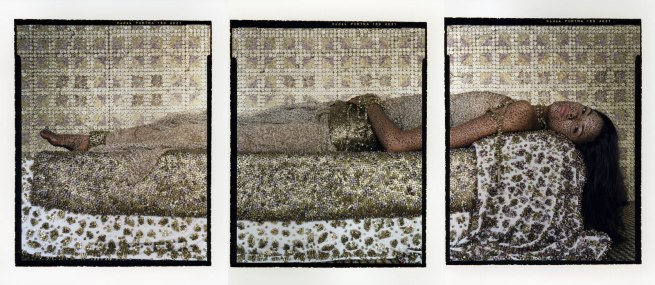 Lalla Essaydi. 'Bullets Revisited #3' 2012