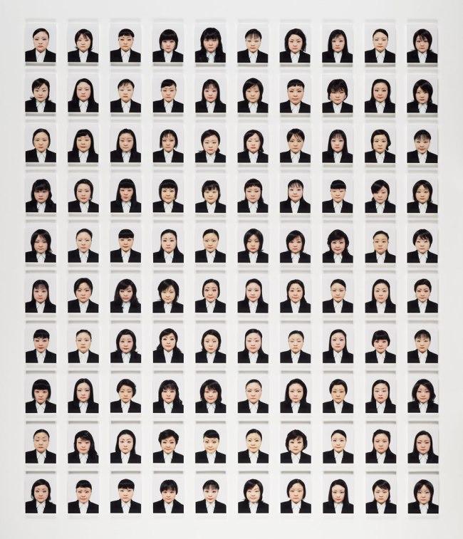Tomoko Sawada, Japanese (b. 1977) 'Recruit/BLACK' 2006