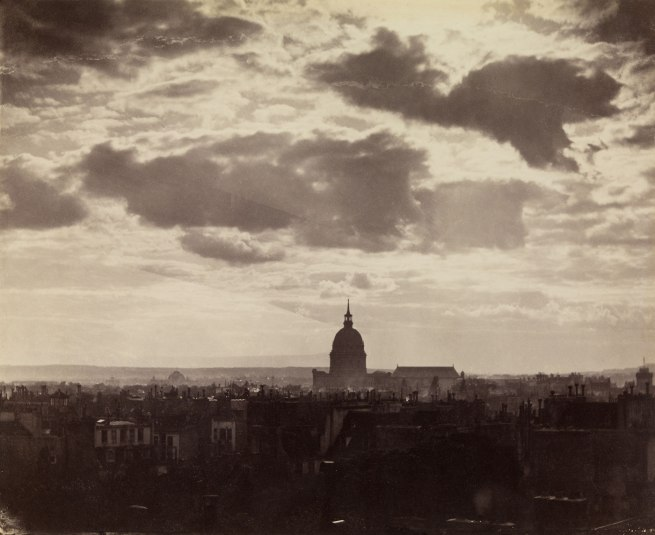 Charles Marville. 'Sky Study, Paris' 1856-1857