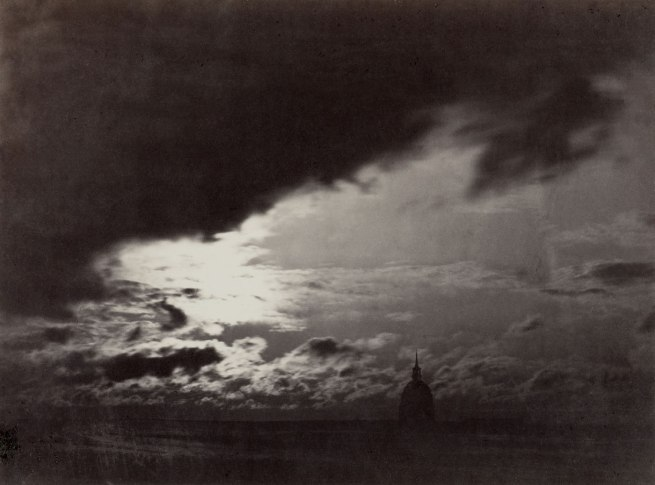 Charles Marville. 'Cloud Study, Paris' 1856-1857