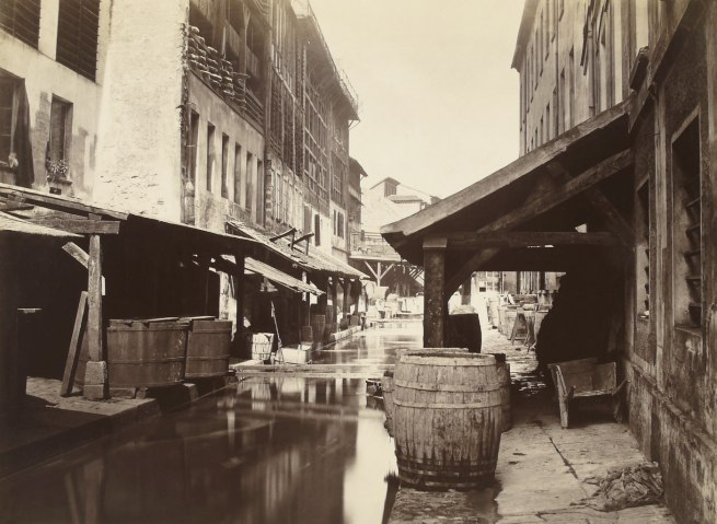 Charles Marville. 'The Bièvre River (fifth arrondissement)' c. 1862