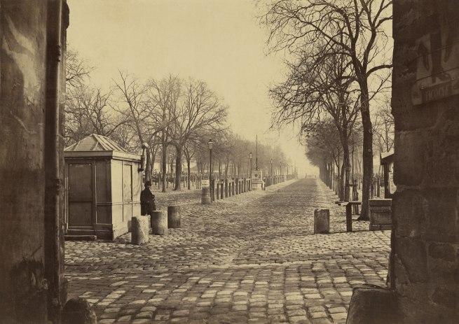 Charles Marville. 'Marché aux chevaux (Horse Market) (fifth arrondissement)' c. 1867