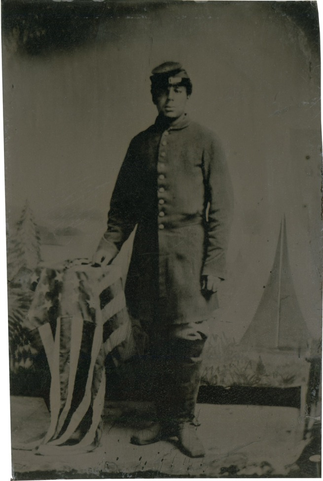 Unknown photographer. 'Private Charles H. Arnum' 1864