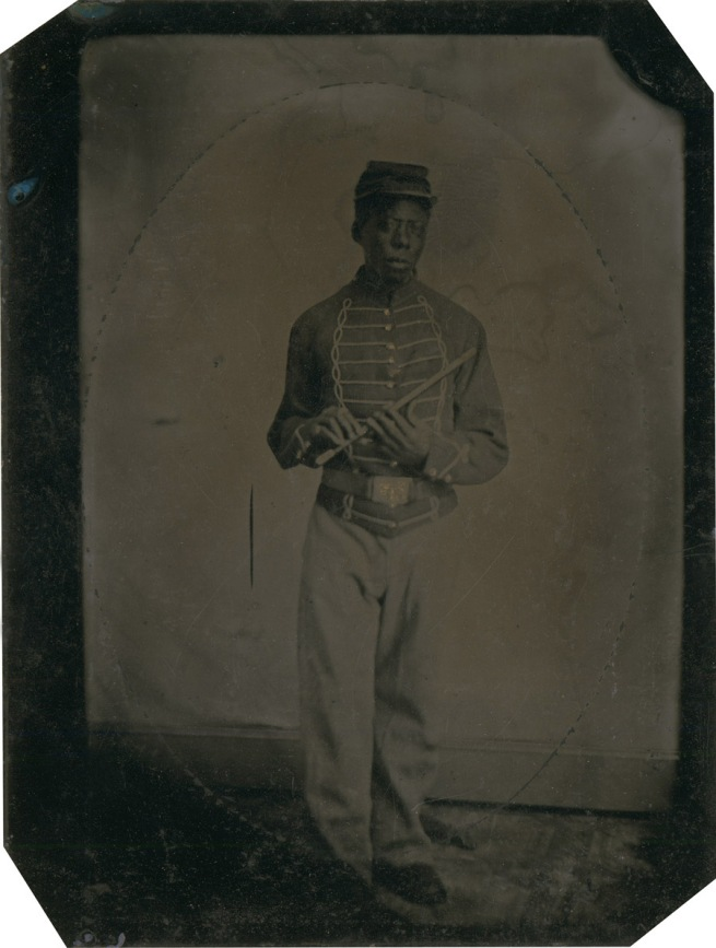 H. C. Foster (?) 'Private John Gooseberry, musician' 1864