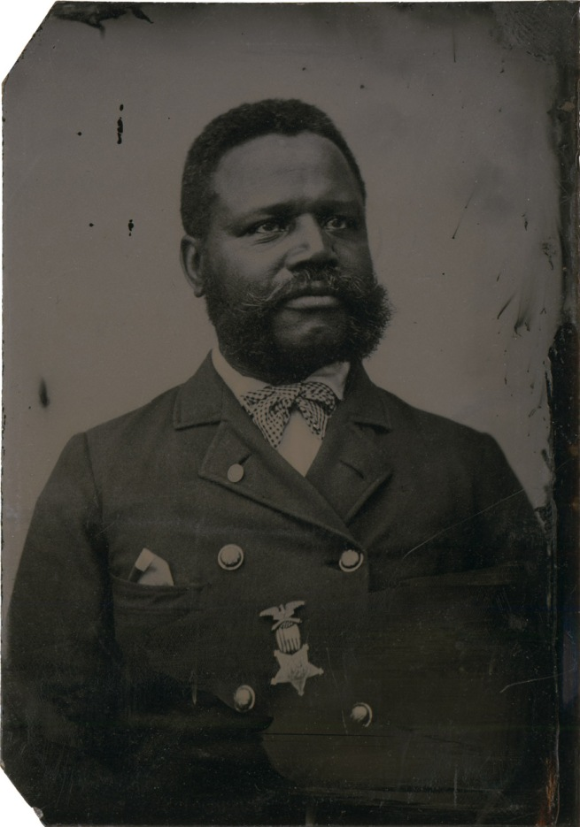 Unknown photographer. 'Private Charles A. Smith' c. 1880
