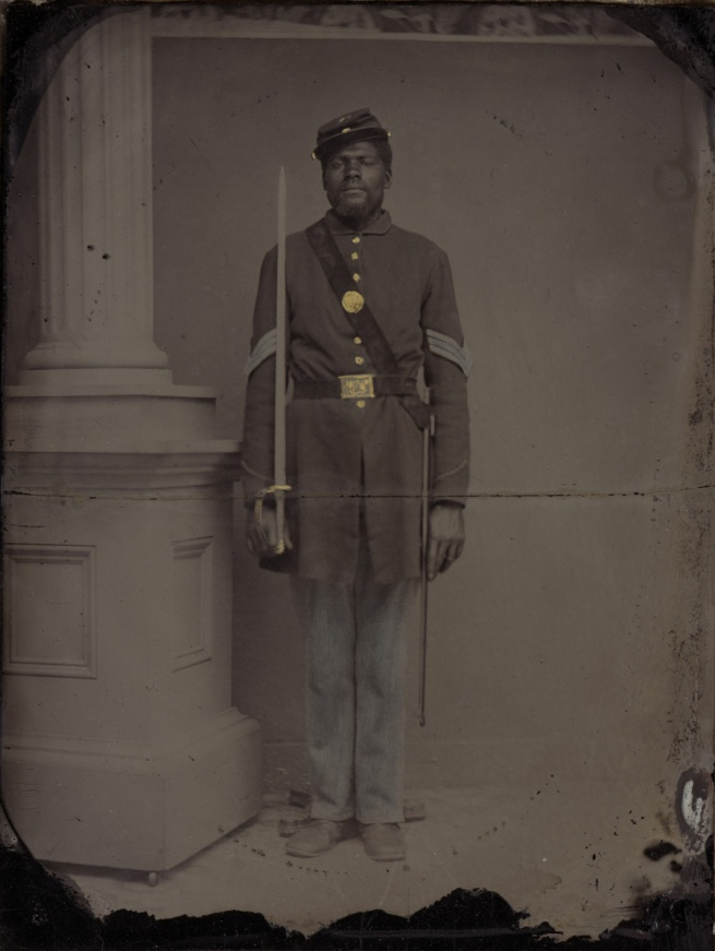 Unknown photographer. 'Sergeant Henry F. Steward' 1863