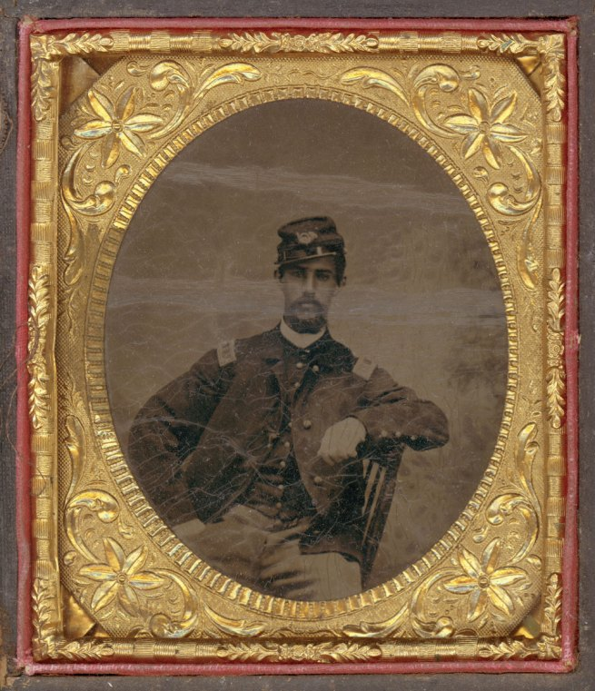 Unknown photographer. 'Captain Luis F. Emilio' c. 1863-1865
