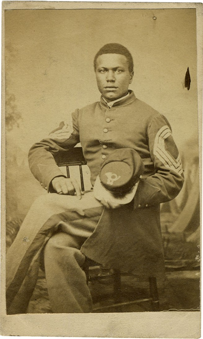Unknown photographer. 'Sergeant Major John Wilson' June 3, 1864
