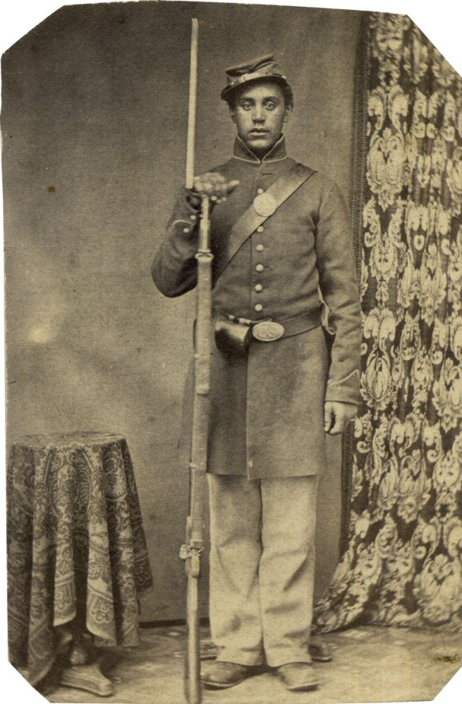 Unknown photographer. 'Private James Matthew Townsend' 1863