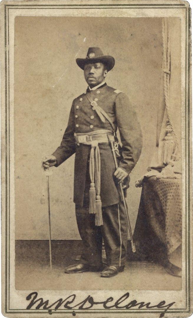Abraham Bogardus. 'Major Martin Robison Delany' c. 1865