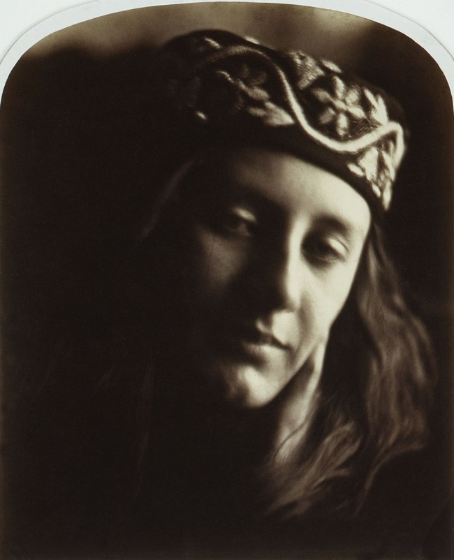 Julia Margaret Cameron (English, 1815-1879) 'Zoe, Maid of Athens' 1866