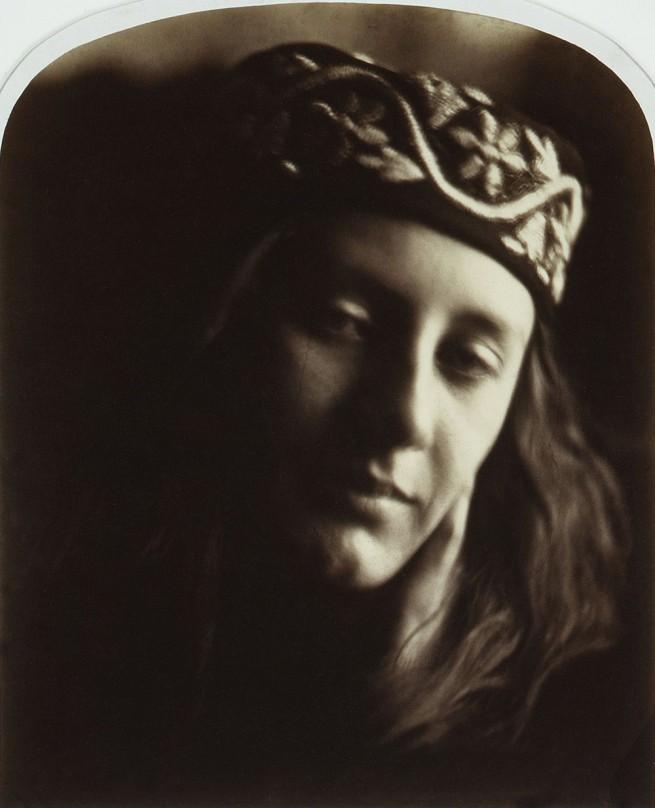 Julia Margaret Cameron (English, 1815-1879) 'Zoe, Maid of Athens' 1866