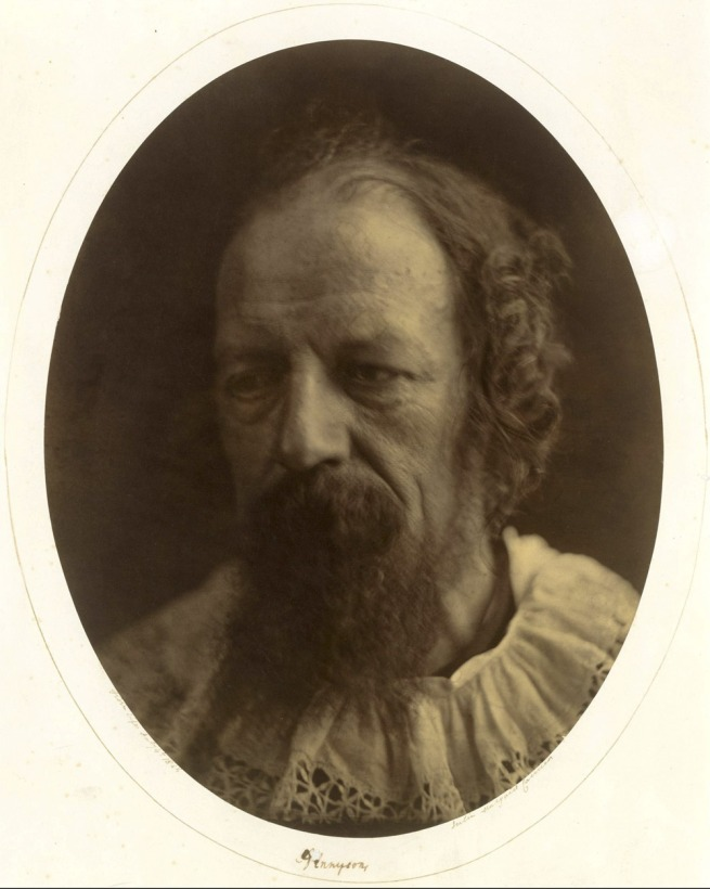 Julia Margaret Cameron (English, 1815-1879) 'Alfred, Lord Tennyson' July 4, 1866