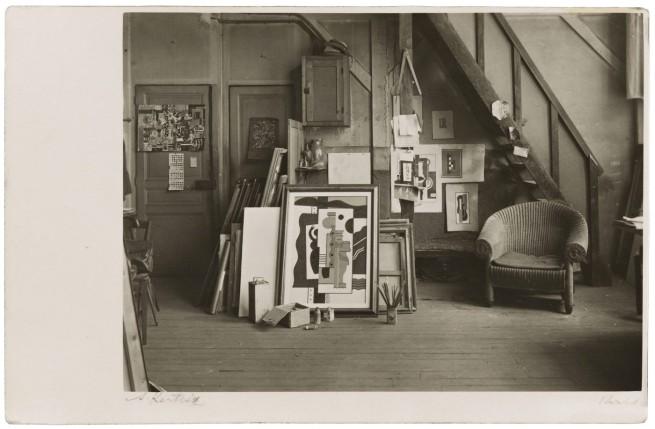 André Kertész (American, born Hungary, 1894-1985) 'Leger's Studio' 1926 - 1927