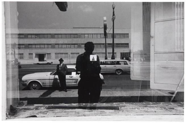 Lee Friedlander (American, born 1934) 'Untitled (Self-Portrait Reflected in Window, New Orleans)' c. 1965