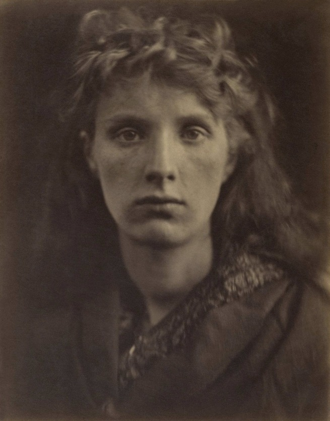 Julia Margaret Cameron (English, 1815-1879) 'The Mountain Nymph Sweet Liberty' 1866