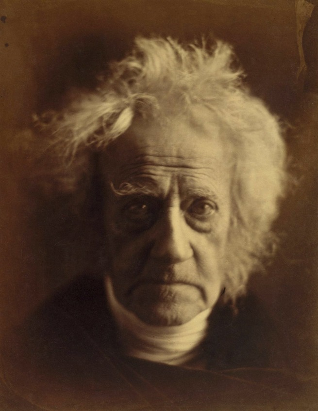 Julia Margaret Cameron (English, 1815-1879) 'Sir John Herschel' April 1867
